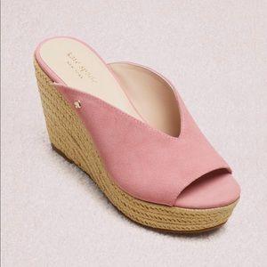 EUC Kate Spade Thea pink espadrille sandals 10